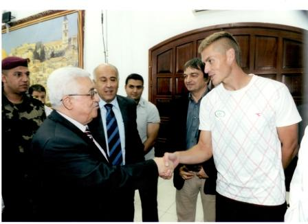 Jarun Meets Palestinian President for web