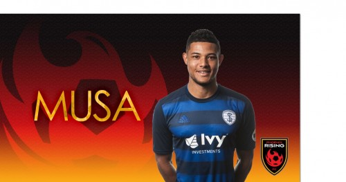 Signing: Musa Signs 2-Years at Phoenix Rising
